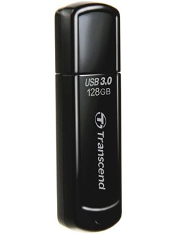 Накопитель Transcend 128GB USB 3.1 JetFlash 700 Black [TS128GJF700]