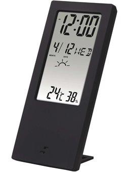 HAMA Термометр / гигрометр TH 140, с индикатором погоды [black]