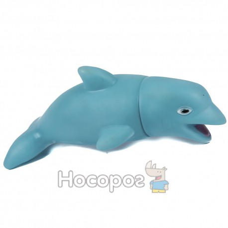 Резиновая игрушка 313-73 Дельфин (3 цвета, пикает) (240)