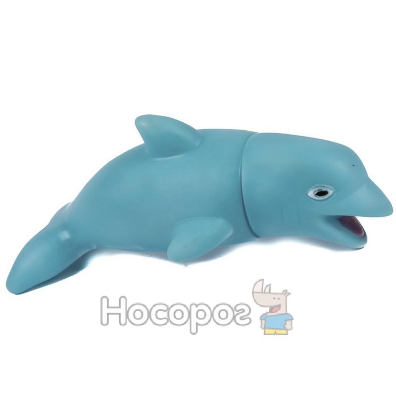 Фото Резиновая игрушка 313-73 Дельфин (3 цвета, пикает) (240)