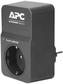 APC Essential SurgeArrest 1 outlet, black, new