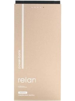 Remax Relan 10000mAh with 2in1 RPP-65 [RPP-65-GOLD]