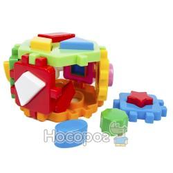 """Игрушка куб """"Умный малыш Гексагон 2 ТехноК"""""""