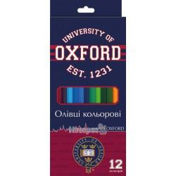 Олівці кольорові 1 Вересня 12 кольорів