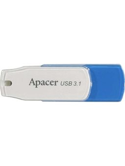 Накопитель Apacer 64GB USB 3.1 AH357 Blue / White [AP64GAH357U-1]