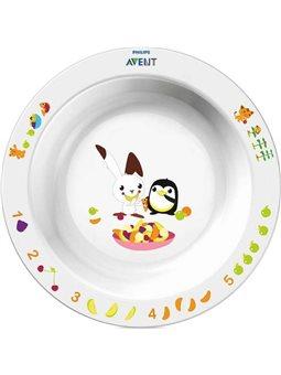 Avent Детская глубокая тарелка 12 +