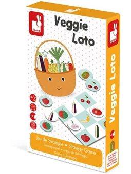 Janod Лото. Овощи