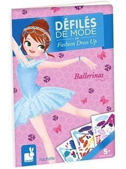 Janod Бумажные куклы - Балерины