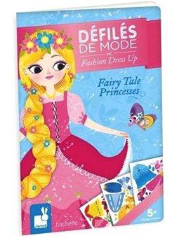Janod Паперові ляльки - Казкові принцеси