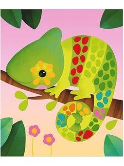 Janod Набор для творчества - изображение с наклейками Животные