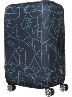Tucano Чехол для чемодана Compatto Mendini L [BPCOTRC-MENDINI-L-BK]