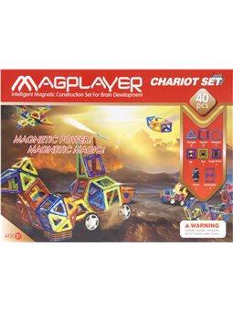 MagPlayer Конструктор магнитный 40 ед. (MPB-40)