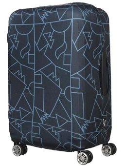 Tucano Чехол для чемодана Compatto Mendini M [BPCOTRC-MENDINI-M-BK]