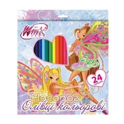 Карандаши цветные 1 Вересня 24 цвета