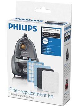 Набор фильтров для безмешковые пылесос FC84xx - FC86xx серий Philips FC8058 / 01 [FC8058 / 01]