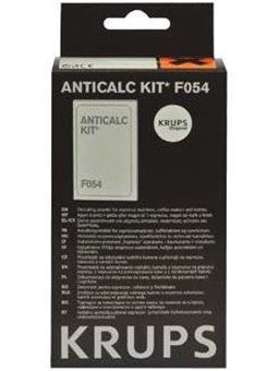 Krups Набір для видалення накипу для кавоварок F054001A (2 пакетика по 40г + 1 тест на жорстк. води)