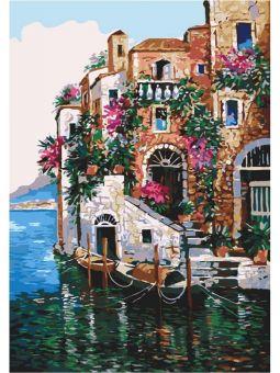 Картина по номерам - Цвета Тосканы [КНО2736]