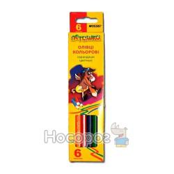 Карандаши цветные Marco 1010-6 Пегашка