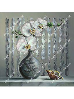 Вышивка бисером - Орхидея [ВБ1007]