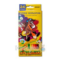 Карандаши цветные Marco 1010-24 Пегашка