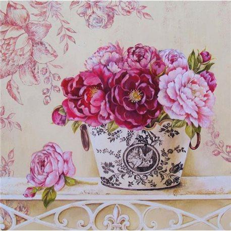Картины по номерам/ Английские розы [КНО2914]