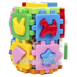 """Іграшка куб """"Розумний малюк Конструктор ТехноК"""""""
