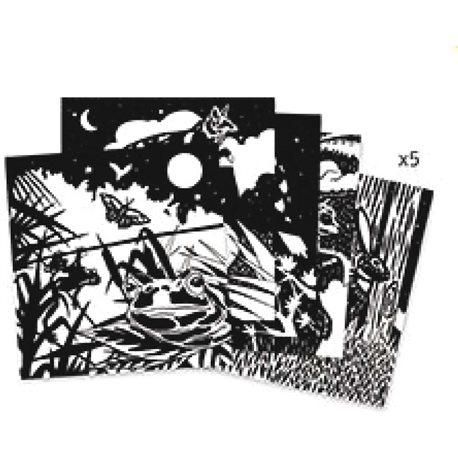 """Фото DJECO Художественый комплект для рисования """"Лес"""" [DJ09623]"""