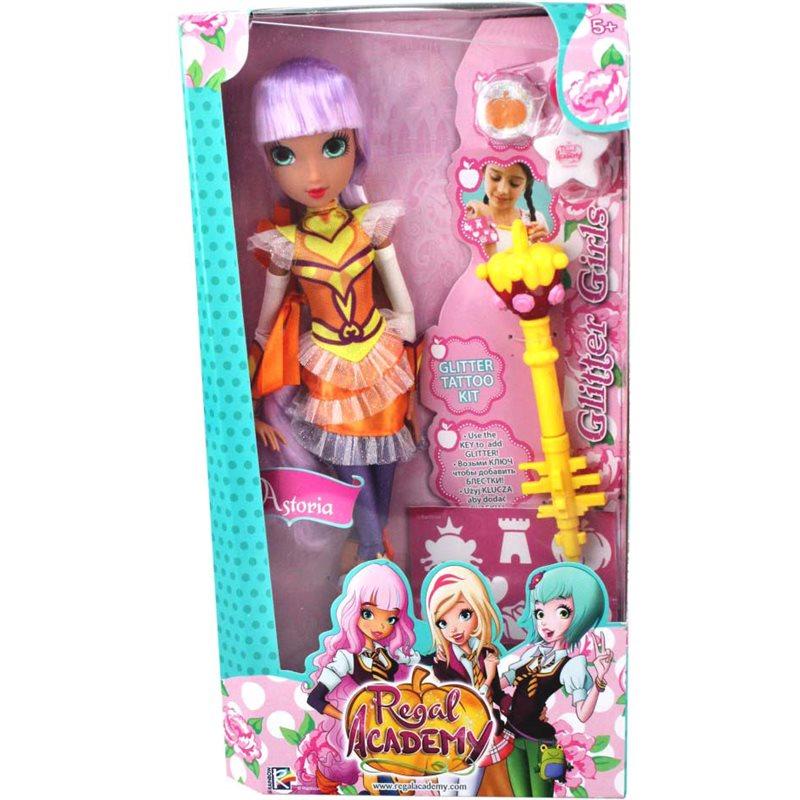 Фото Regal Academy Кукла с аксессуарами Блестящая девчонка Астория [REG21200/UA]