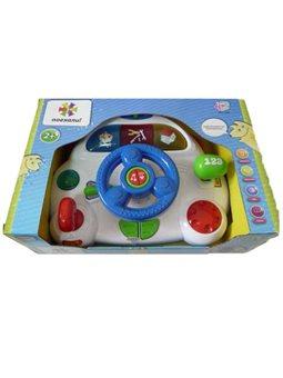 """Автотренажер """"Поехали"""" 7066 (12) Play Smart, русское озвучивание, направление, свет, звук, 2 вида, в коробке [1576]"""