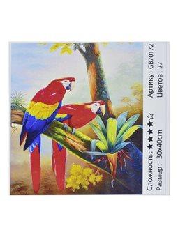 Алмазная мозаика GB 70172 (30) 30х40 см., 27 цветов, в коробке [73183]