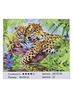 Алмазная мозаика GB 70748 (30) 40х30 см., 30 цветов, в коробке [73210]