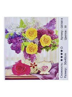 Алмазная мозаика GB 70814 (30) 30х40 см., 30 цветов, в коробке [73211]