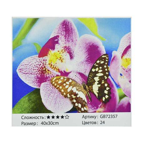 Фото Алмазная мозаика GB 72357 (30) в коробке 40х30, 24 цвета [71618]