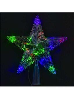 """Верхушка на ёлку С 23462 (100) """"Звезда"""" 1,35 метра длина шнура [61329]"""