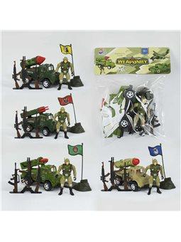 Военный набор 8668-10 (240/2) 4 вида, в кульке [78296]