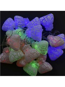 Гирлянда светодиодная Мешочки С 31309 (50) 20 лампочек, 5 метров, мультиколор [70407]