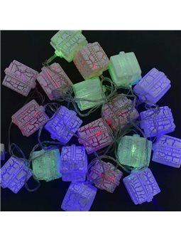 Гирлянда светодиодная Подарок С 31304 (50) 20 лампочек, 5 метров, мультиколор [70402]