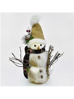 Декоративная фигурка Снеговик C 30425 (30) 45 см [70061]
