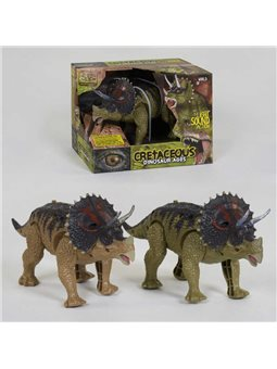 Динозавр WS 5315 (48) ходит, световые и звуковые эффекты, 2 вида, в коробке [73327]