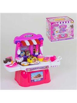 """Игровой набор """"Магазин сладостей"""" 36778-98 (18) продукты на липучках, в коробке [69475]"""