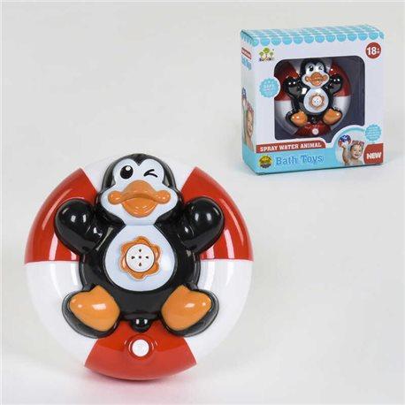 Фото Игрушка водоплавающая Пингвин SL 87030 (72/2) на батарейках, в коробке [81875]
