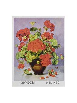 Картина по номерам KTL 1470 (30) в коробке 40х30 [71435]