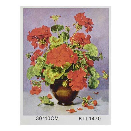 Фото Картина по номерам KTL 1470 (30) в коробке 40х30 [71435]