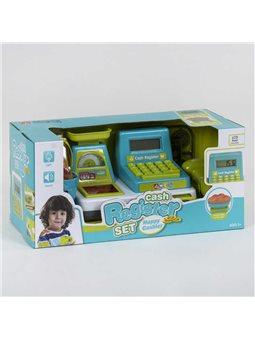 Кассовый аппарат 35533 А (24/2) световые и звуковые эффекты, сканер, корзинка с продуктами, в коробке [81287]