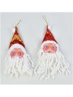 Ёлочная игрушка С 31129 Дед Мороз (50) /ЦЕНА ЗА УПАКОВКУ/ 12шт в упаковке [70481]