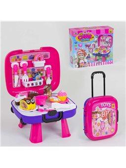"""Игровой набор """"Сладости"""" 36778-87 (36) с чемоданом, продукты на липучках, в коробке [69473]"""