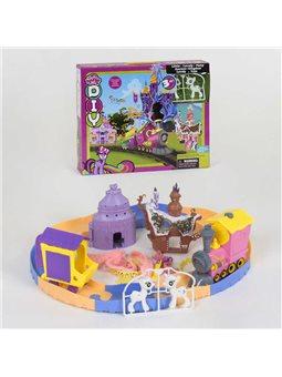 Игровой набор Замок пони SM 1026 (24) мелодии, в коробке [67199]
