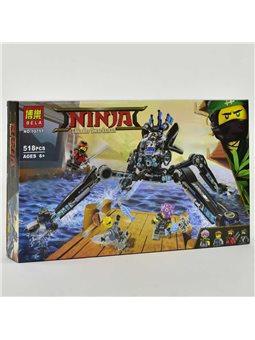 """Конструктор """"NJ"""" 10717 (18) """"Водяной робот"""" 518 деталей, в коробке [63252]"""