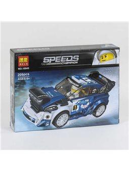 """Конструктор 10945 (72) Bela Speeds Champion """"Гоночный автомобиль"""", 209 деталей, в коробке [74376]"""