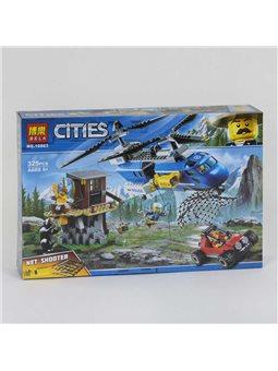 """Конструктор Bela Cities 10863 (24) """"Погоня в горах"""", 325 деталей [73781]"""